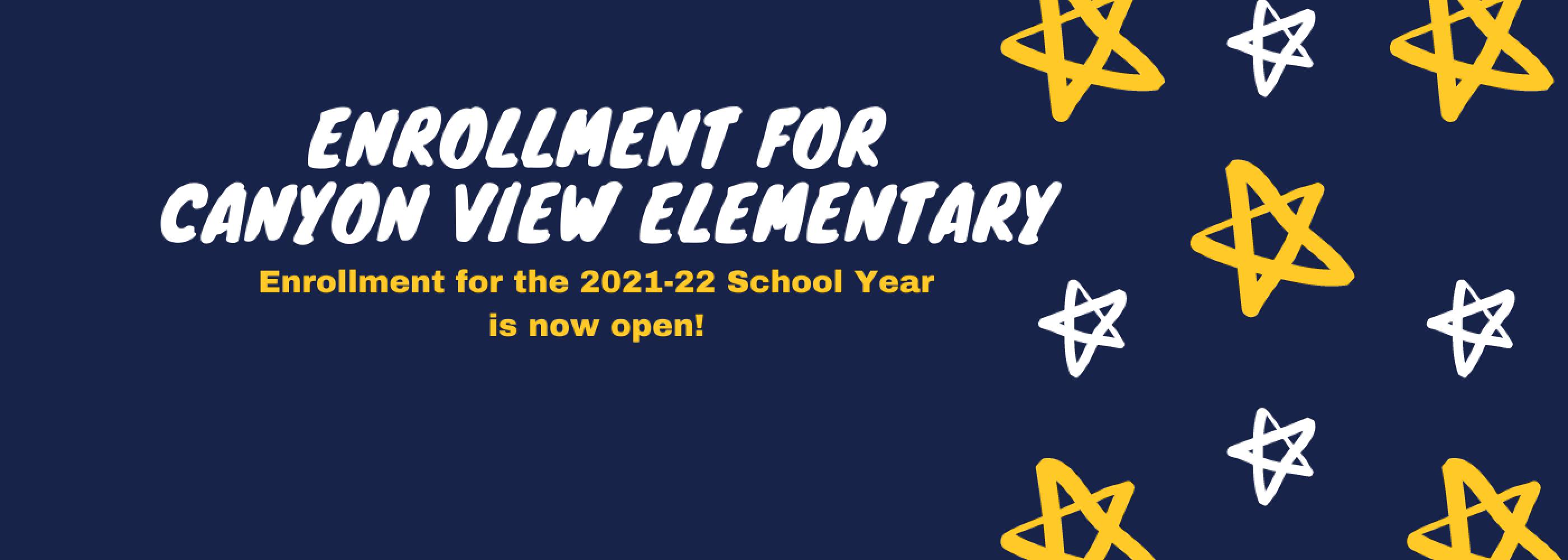 enrollment banner